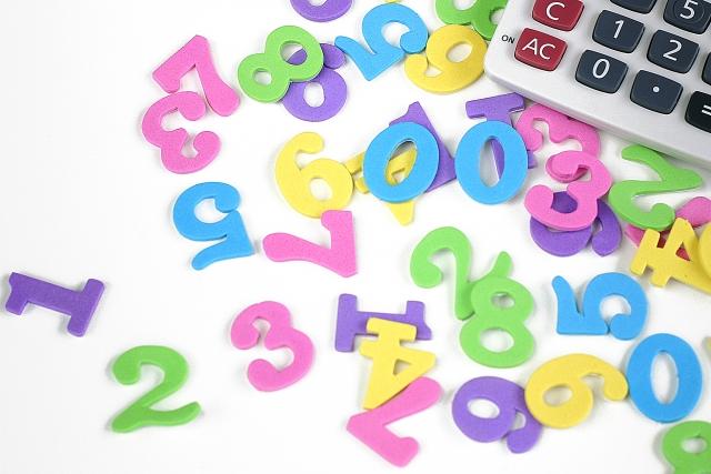 数字と電卓