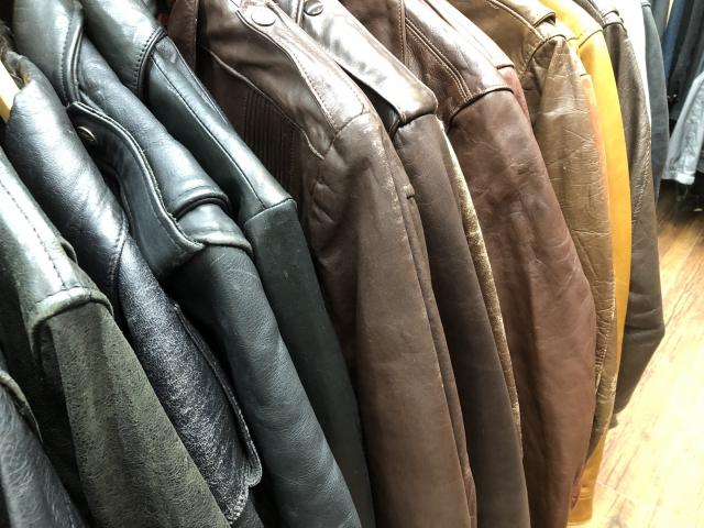 男性のジャケット