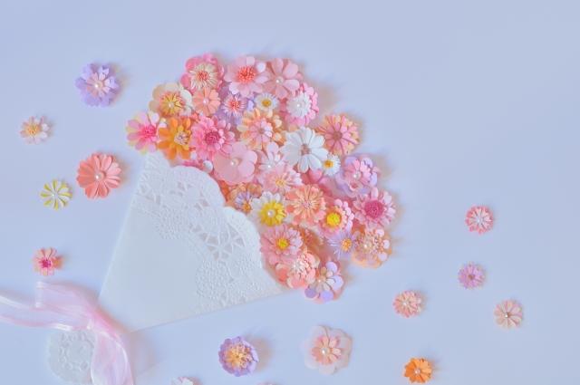 花束ビーズ