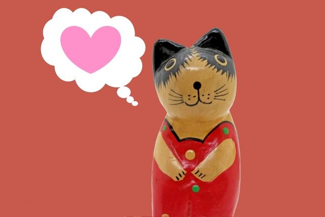 恋をした猫ちゃん