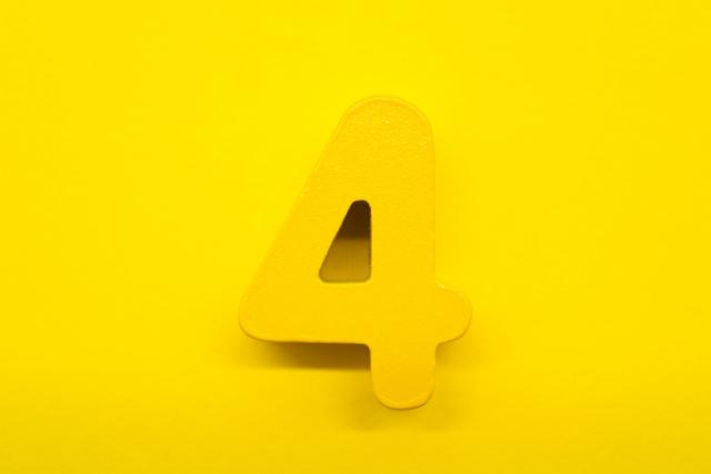 黄色い4番